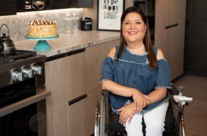 Nicolle Vallarino tiene una empresa de 'catering' que nació en el 2000. Foto: Cortesía