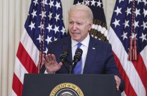 El presidente de EE.UU., Joe Biden. EFE