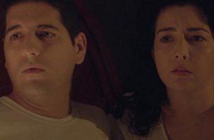 Cedric Miró y y Gina Faarup de Cochez. Foto: Instagram