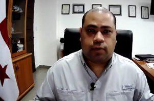 Omar Ahumada es el coordinador de la vacunación contra la covid-19 en Panamá Oeste.
