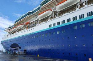 El próximo sábado arriba a Colón, un mini crucero del cual bajarán unos 80 turistas. Foto: Archivo Ilustrativa