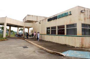 Instalaciones del Minsa-Capsi de Burunga, en el distrito de Arraiján, Panamá Oeste. Foto: Eric A. Montenegro