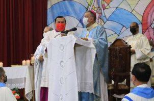 """Monseñor José Domingo Ulloa afirmóque la """"corrupción"""" es un tema diario."""