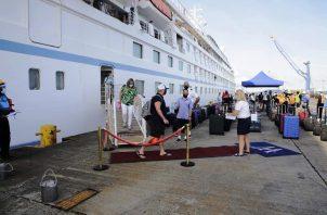 El crucero está cumpliendo en Panamá un itinerario de 7 días. Foto: Diómedes Sánchez