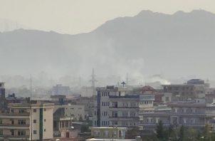 Un dron contra una 'amenaza inminente' en Afganistán. Foto: EFE