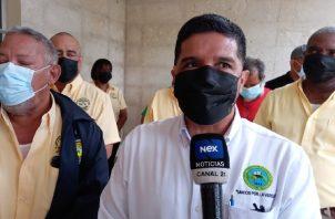 Docentes exigen que el Meduca crear las condiciones de bioseguridad para el retorno a clases. Foto: Víctor Arosemena