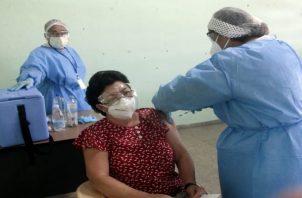 Panamá empezó la vacunación contra la covid-19 el 20 de enero de 2021. Foto: Grupo Epasa