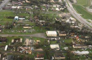 Daños causados por el huracán Ida a su paso por el estado de Luisiana, en Estados Unidos. EFE