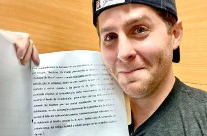 """""""Le ganamos a la manipulación jurídica y la persecución política que inició Juan Carlos Varela"""", dijo Mayer Mizrachi. Foto: Cortesía"""