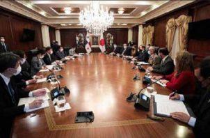Japón es un socio importante para Panamá, así lo expresó el presidente Cortizo.