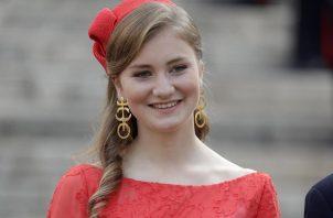 La princesa Isabel de los belgas. EFE