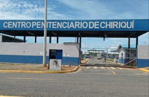 Las clases se dictarán en el mismo centro penitenciario y serán virtuales. Foto/José Vásquez/Chiriquí