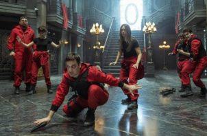 Imagen de la temporada 5 de 'La casa de papel'. Foto: Netflix / EFE