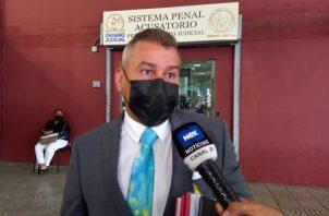 Sidney Sittón dijo que el juicio contra Ricardo Martinelli se ha convertido en una caricatura. Foto: Víctor Arosemena