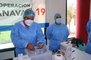 Panamá ha aplicado hasta hoy 4,664,600 dosis de la vacuna contra la covid-19 tanto de Pfizer como de AstraZeneca. Foto: Cortesía Minsa