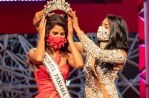 Coronación de Carmen Isabel Jaramillo, actual Señorita Panamá. Foto: Instagram / @senoritapanamaoficial