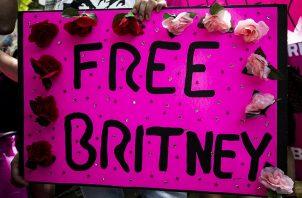 Manifestaciones en defensa de Britney Spears este verano en Estados Unidos. EFE