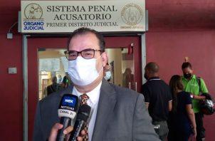 Carlos Carrillo dijo que el Tribunal de Juicio tendrá que hacer las correcciones necesarias. Foto: Víctor Arosemena
