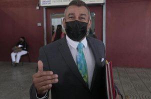 Sidney Sittón, en reiteradas ocasiones ha cuestionado la labor que ha estado haciendo la fiscalía en este segundo juicio. Foto: Víctor Arosemena.