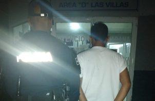 El detenido coincide con la descripción de uno de los asaltantes. Foto: Eric A. Montenegro