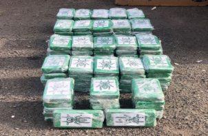 La droga incautada fue encontrada dentro de estufas y lavadoras. Foto: Cortesía PGN
