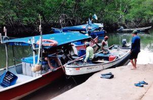Los pescadores están cansados de los hurtos de sus equipos de trabajo en el área. Foto: Melquiades Vásquez