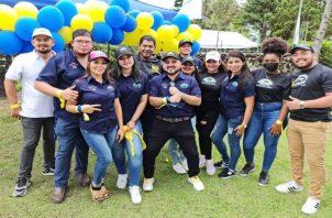 Los miembros de Realizando Metas en su visita a Chiriquí dejaron claro el compromiso del colectivo rumbo al triunfo para el 2024. Foto: Cortesía