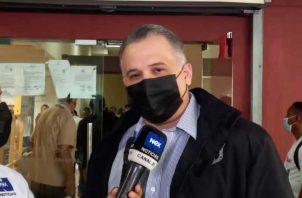 El abogado Alfredo Vallarino asegura que en poco tiempo demostrarán que las pruebas documentales no son legítimas. Foto: Víctor Arosemena
