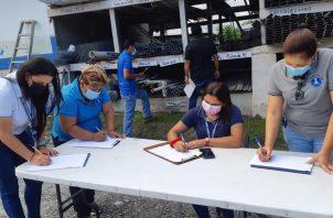 Trabajadores sociales se han desempeñado en vacunación, trazabilidad y Panamá Solidario. Foto: Eric A. Montenegro