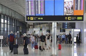 Las actividades en el Aeropuerto Internacional de Tocumen se retomaron en octubre de 2020.  Foto: Cortesía @tocumenaero