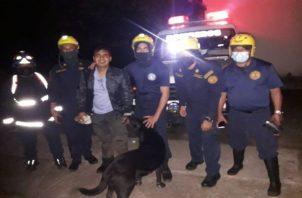 El ciudadano indostán Srinivas Rajeshwar Chaubey estuvo extraviado por más de cuatro horas. Foto: José Vásquez