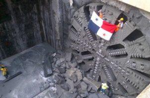 El túnel de esta obra será dos veces más grande que el que se hizo en la Línea 1. Foto: Grupo Epasa