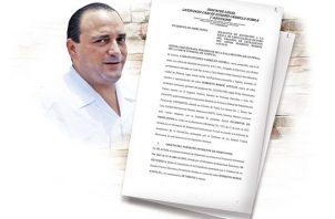 Roberto Borge Ángulo fue gobernador de Quintana Roo, México.