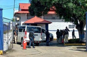 El comisionado Carlos Valencia, director de Investigación Judicial, indicó que para esta operación se utilizó un recurso de 150 unidades policiales, algunas de ella provenientes de la provincia de Panamá. Foto: Thays Domínguez