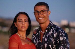 Georgina Rodríguez y Cristiano se conocieron en una tienda de lujo en Madrid. Foto: Instagram