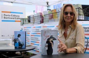 La escritora María Dueñas. Foto: EFE / Cynthia de Benito.