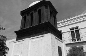 Campanario de la Iglesia La Merced, en San Salvador, donde ocurrió el Primer Grito de Independencia de El Salvador y Centroamérica, el 5 de Noviembre de 1811.Foto: Cortesía del autor.