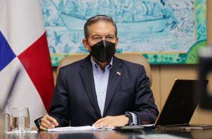 El presidente Laurentino Cortizo participó hoy de manera virtual en el Diálogo de Alto Nivel sobre Acción Climática en las Américas. Foto: Cortesía @NitoCortizo