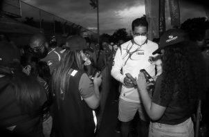 Unos 13 mil ciudadanos obtuvieron con éxito su código QR, para ingresar al partido de fútbol Panamá- Costa Rica, el pasado 2 de septiembre, según informe de la AIG. Foto: Tomada de la página de la AIG.