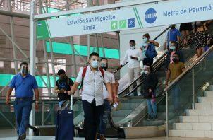 El Metro de Panamá cuenta con más de 900 cámaras de vigilancia entre las Líneas 1 y 2. Foto: Cortesía @elmetrodepanama