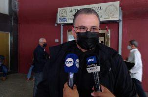 Alfredo Vallarino dijo que los testigos deben repetir lo mismo que en el juicio anterior. Foto: Víctor Arosemena