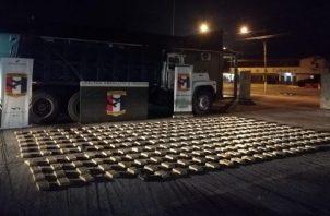 Los estamentos de seguridad han incautado cerca de 90 kilos de drogas en lo que va del año.. Foto: Cortesía PGN