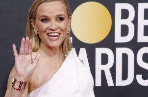 Reese Witherspoon en la ceremonia de los Golden Globe Awards en 2020. Foto: EFE / EPA / NINA PROMMER