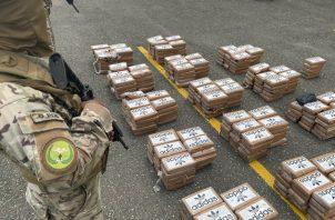 El Senan destacó que en lo que va de este año ha decomisado 50,258 paquetes de drogas. Foto: Cortesía Senan