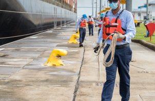 El total de contagios en la fuerza laboral del Canal de Panamá es de 1,777. Foto Ilustrativa. Foto: Cortesía Canal de Panamá