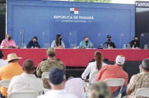 Laurentino Cortizo reconoció que no ha sido fácil gobernar en medio de 17 meses de pandemia. Foto: Cortesía Presidencia de la República