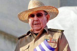 El expresidente cubano Raúl Castro, en una fotografía de archivo. Foto: EFE