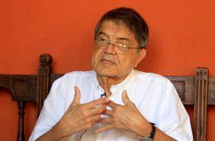 Fotografía del 31 de enero de 2020 del escritor y exvicepresidente de Nicaragua, Sergio Ramírez. Foto: EFE