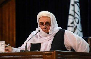 El ministro de Educación Superior, Abdul Baqi Haqqani. EFE