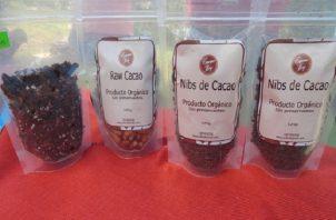 Panamá participa en el mercado internacional ofreciendo cacao en grano, manteca de cacao y pasta de cacao. Foto: Cortesía